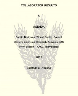 Front Page 2013 PNW WQC book