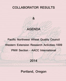 Front Page 2014 PNW WQC book